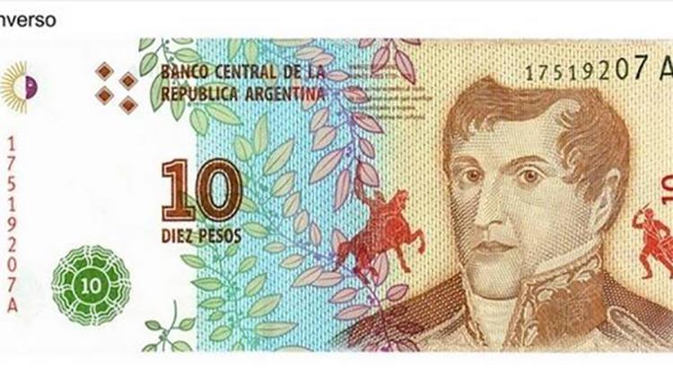 Nuevo billete de $ 10