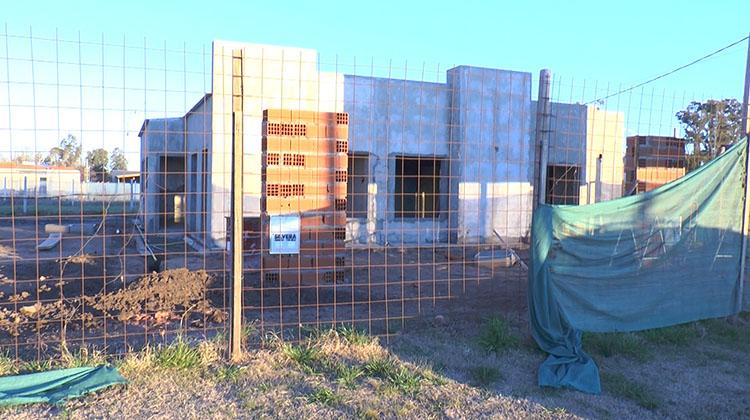 Avanza la construcción de las diez viviendas cooperativas