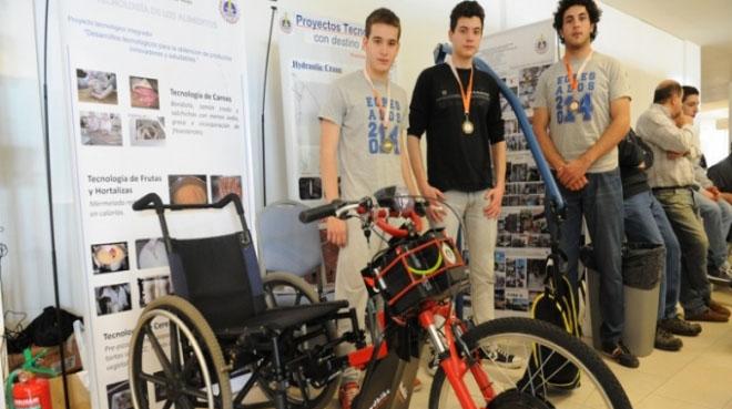 Por proyectos solidarios fueron premiados los alumnos de la EETNº 2 de Nueve de Julio