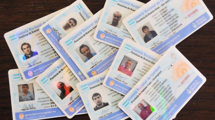 Retiro de licencias de conductor
