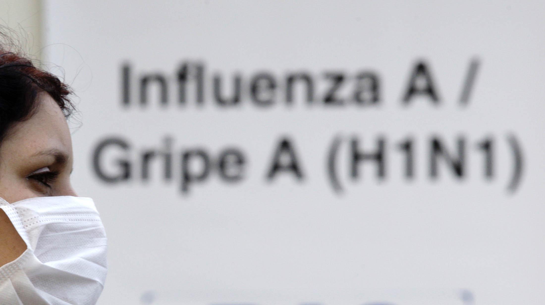 Avanza la gripe A