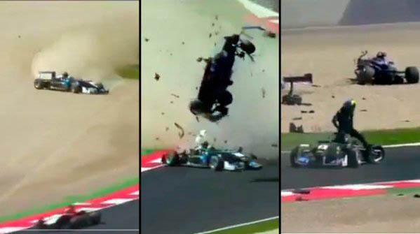 Accidente en la Fórmula 3