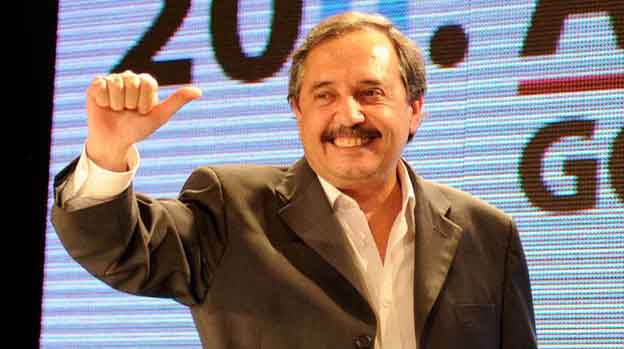 Alfonsín en 9 de Julio