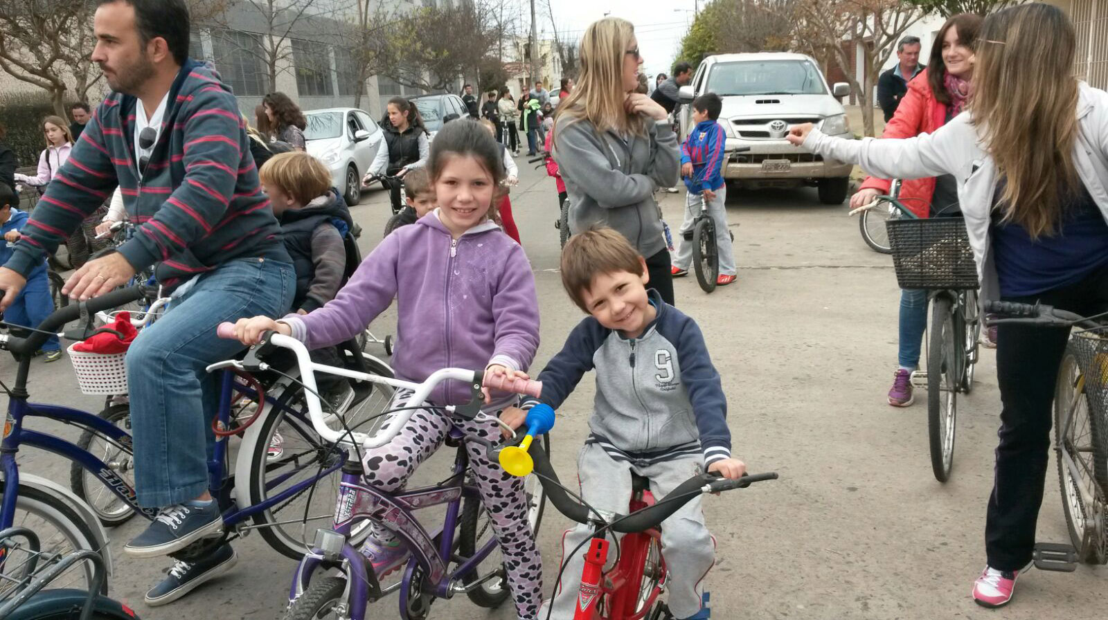 Los marianistas realizaron su tradicional bicicleteada
