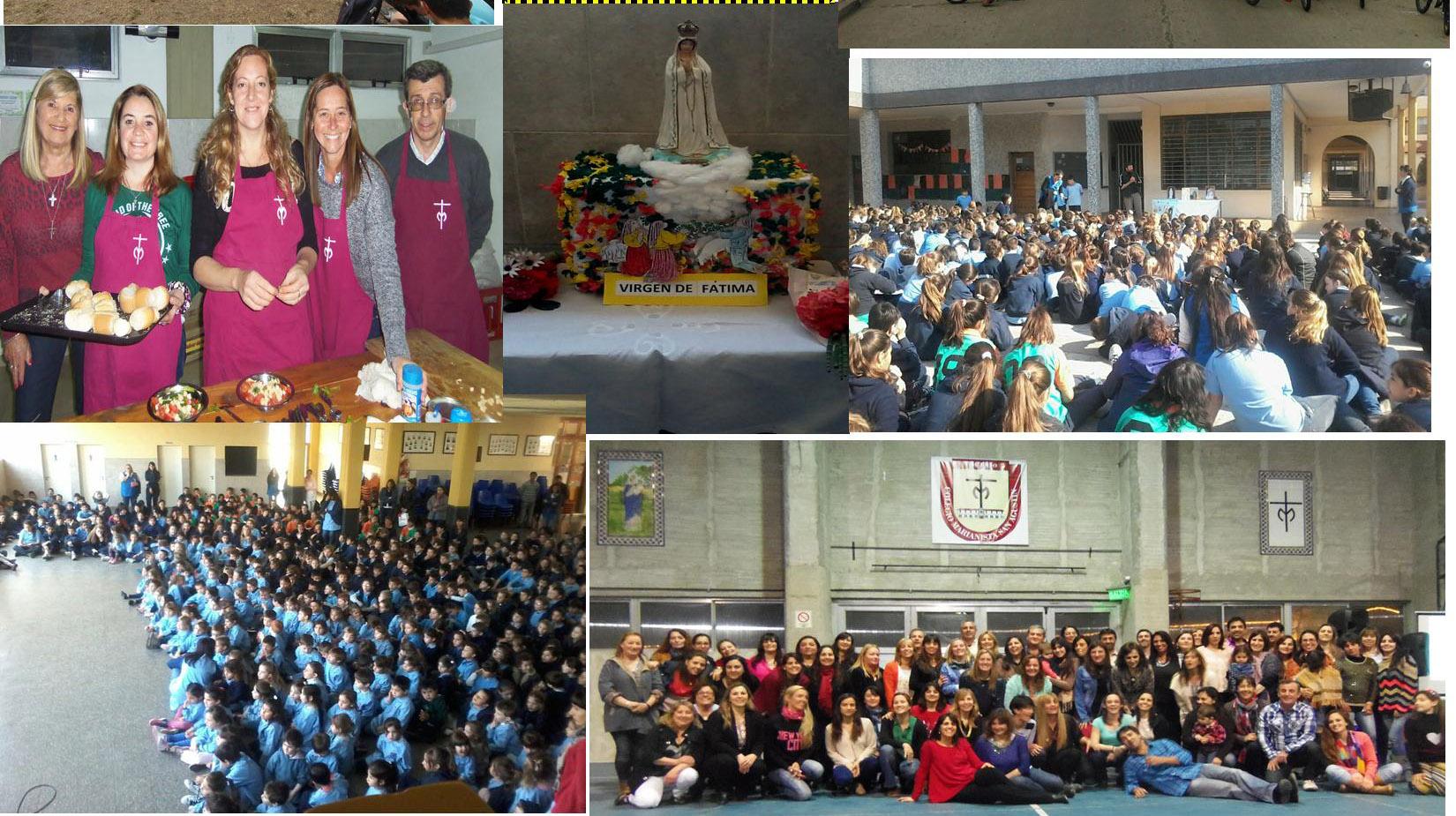 La comunidad Marianista continua de festejo