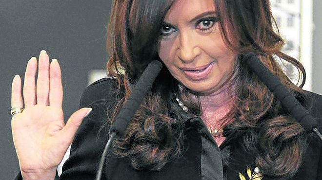 Cristina rompió el silencio por el caso López