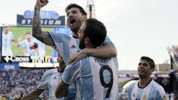 Argentina goleó sin piedad a Venezuela en Boston