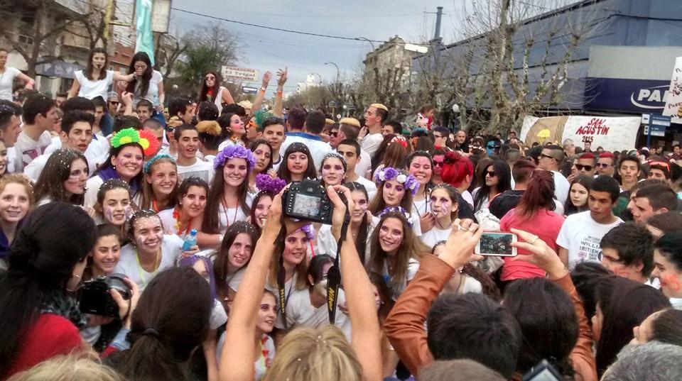 La Promo 2015 deja su huella en la Semana del Estudiante