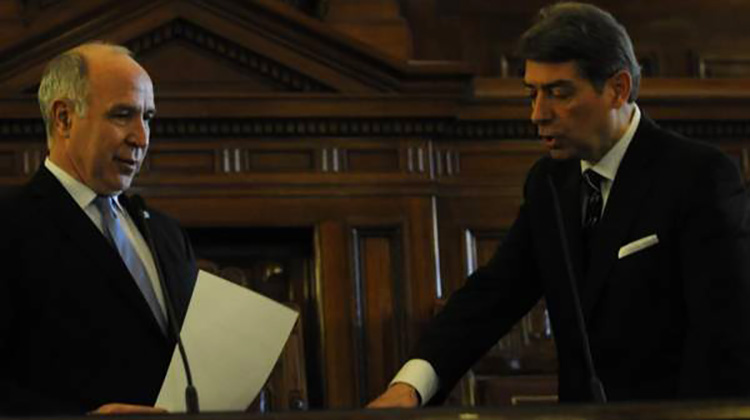 Corte Suprema: Juró Rossati