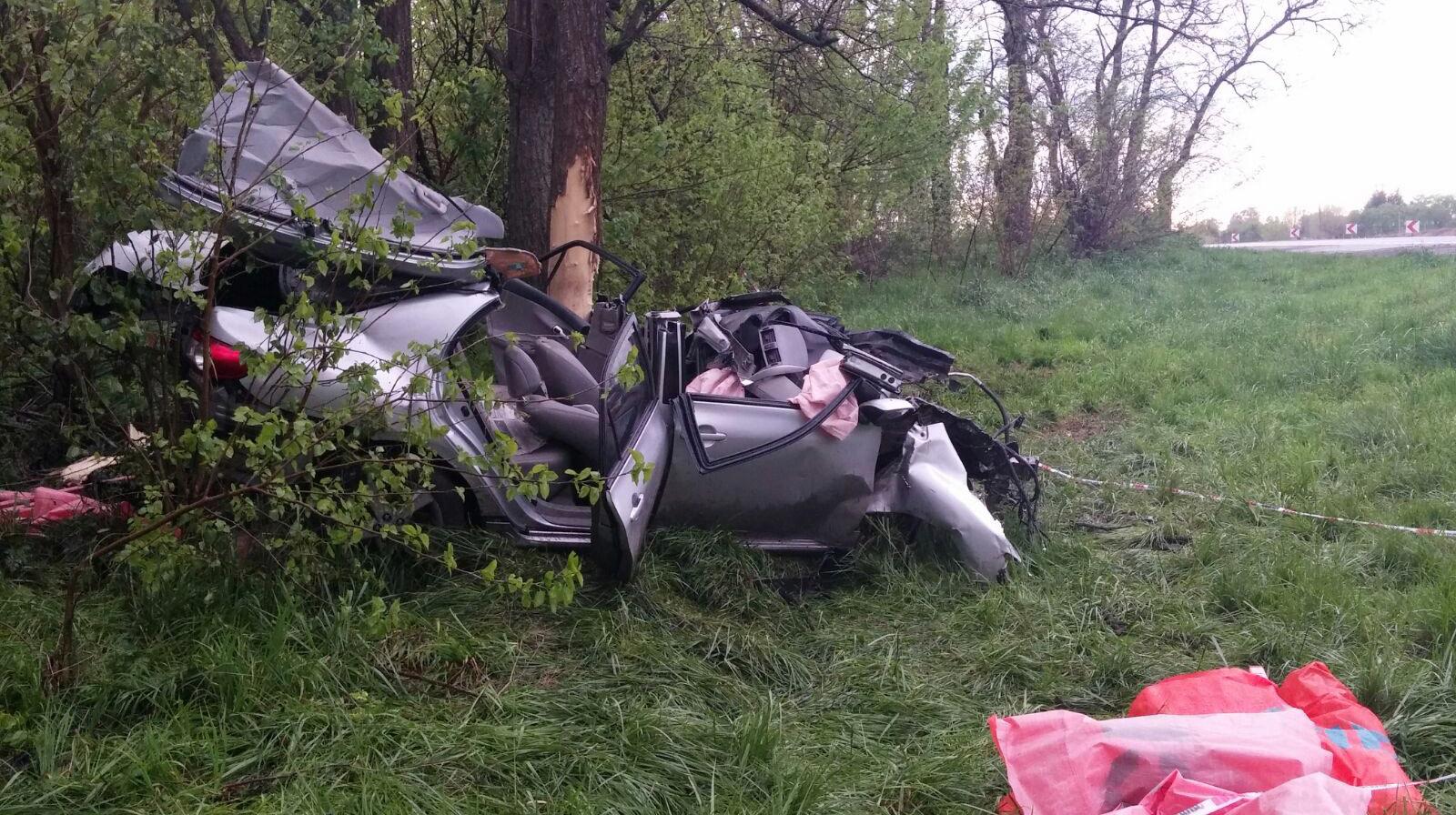 Otro accidente automovilístico en Ruta 5