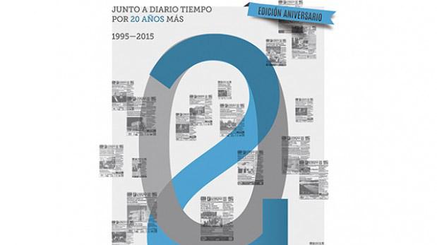 """Diario """"Tiempo"""" cumple 20 años de trayectoria"""