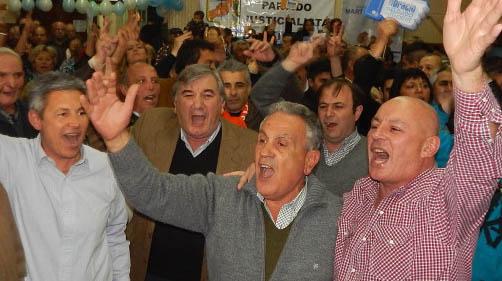 Todo el peronismo acompañando la candidatura de Delgado