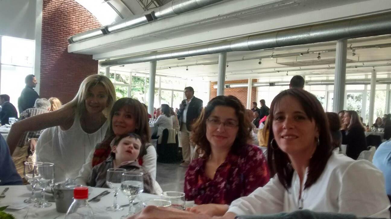 Marianela Lopez también participo de la Expo nuevejuliense