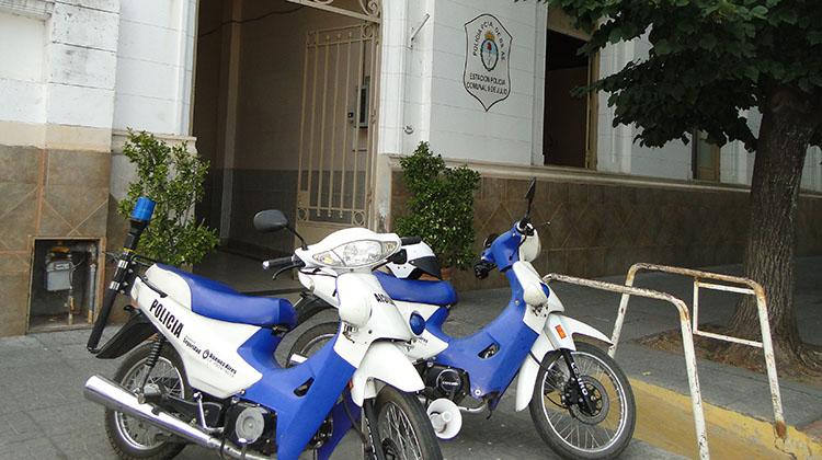 Menores robaron motocicleta