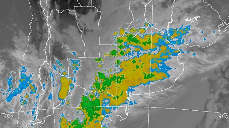 Lluvias intensas para el oeste bonaerense