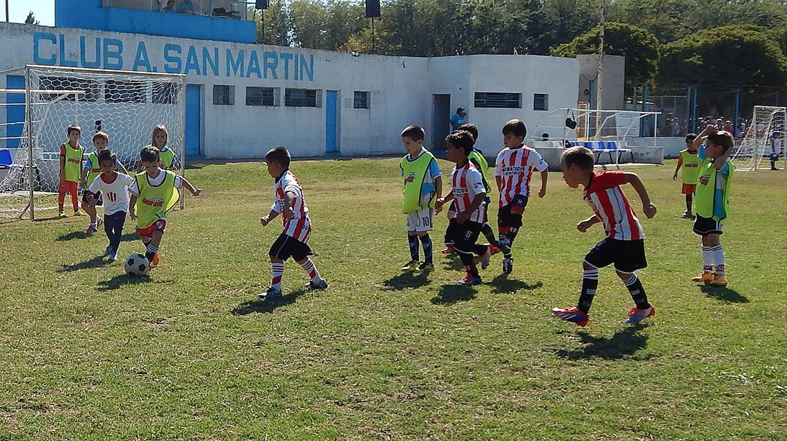 Torneo solidario de fútbol