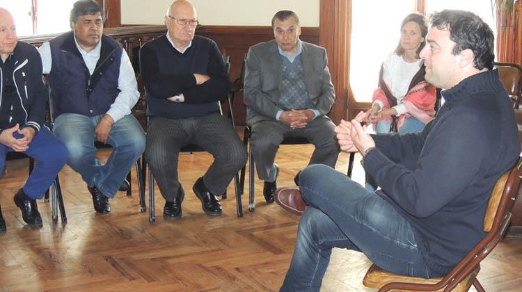 Reunión con sindicatos