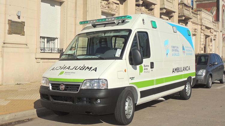 Llegó la nueva ambulancia