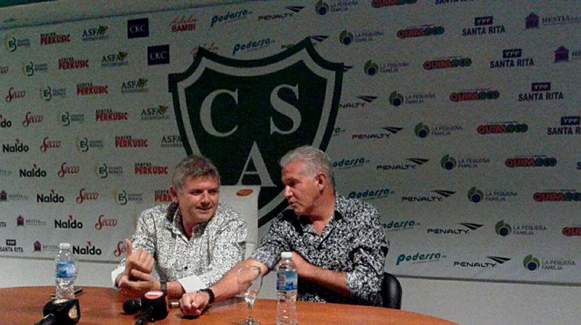 Burruchaga asumió como DT de Sarmiento