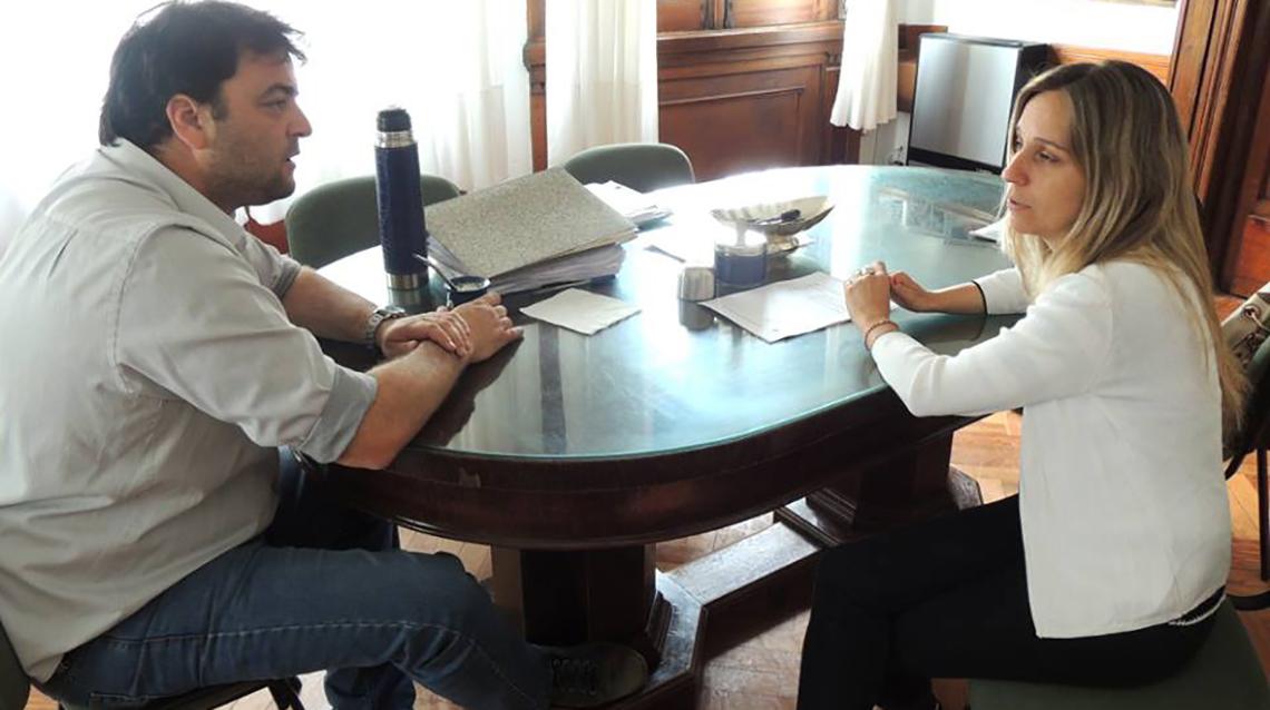 Barroso se reunió con la titular del PAMI