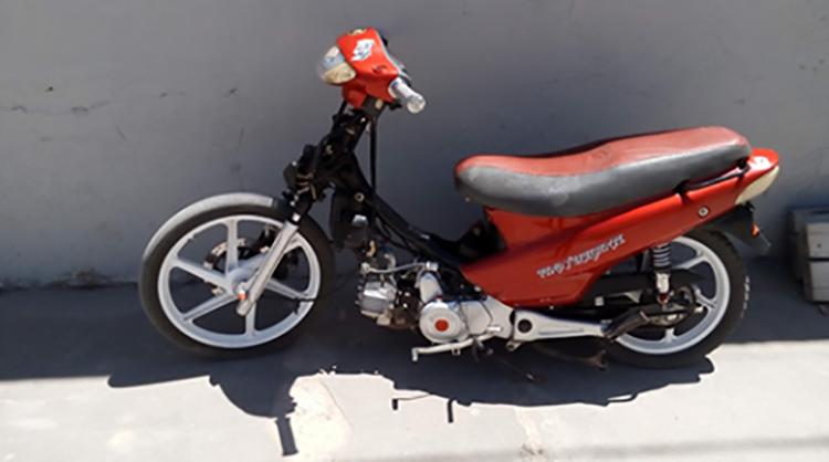 Recuperan en Casares moto robada en 9 de Julio