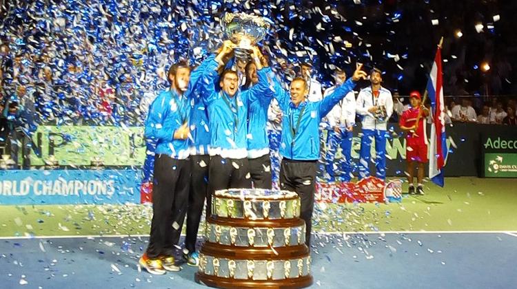 Argentina campeón de la Davis