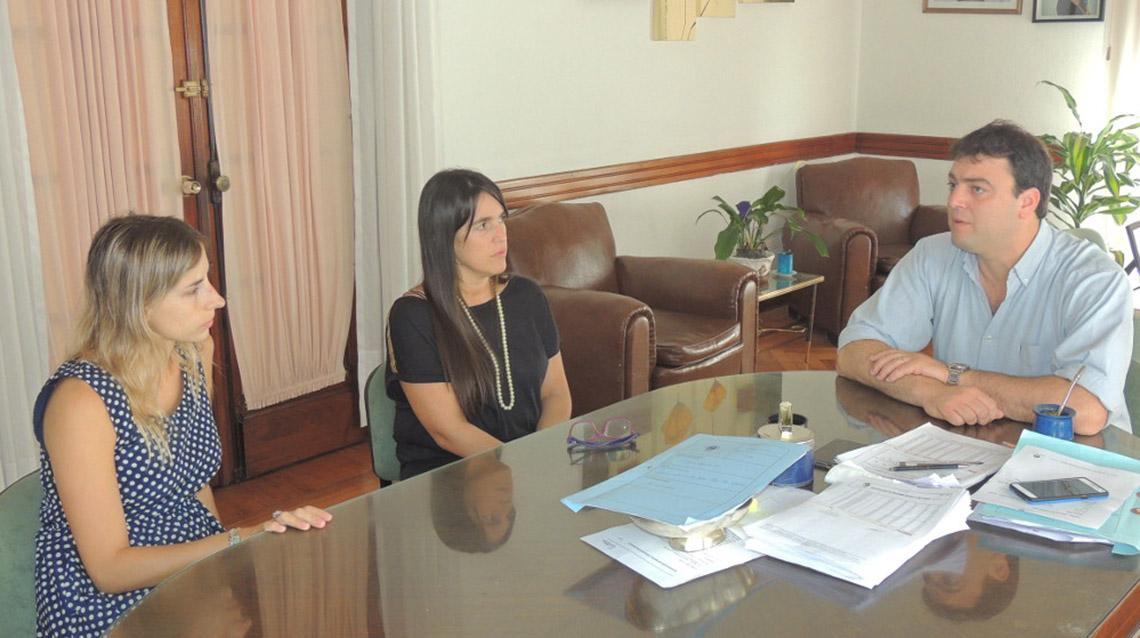 Barroso recibió a jefa regional de ANSES