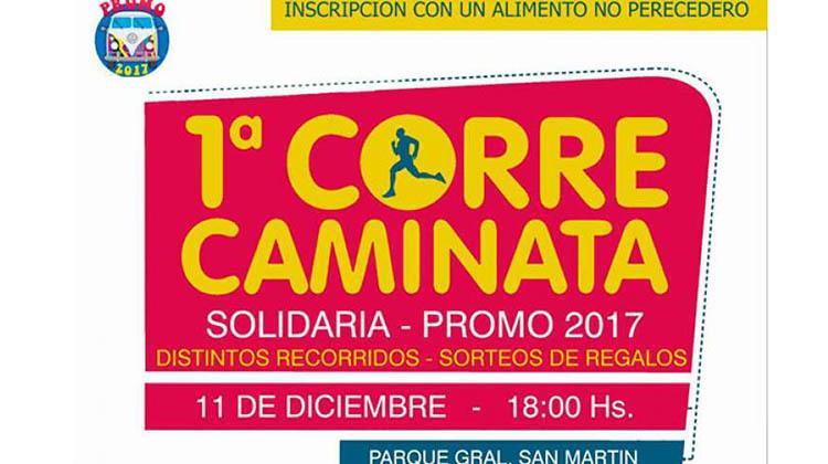 Correcaminata Solidaria de la Promo