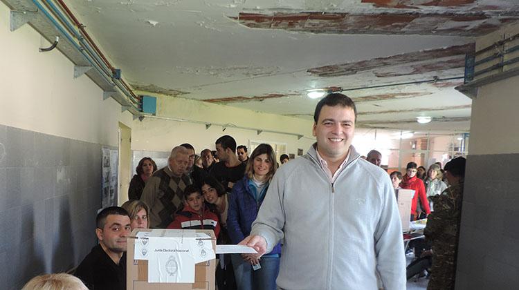 Elecciones 2015: Voto Mariano Barroso y con mucho optimismo