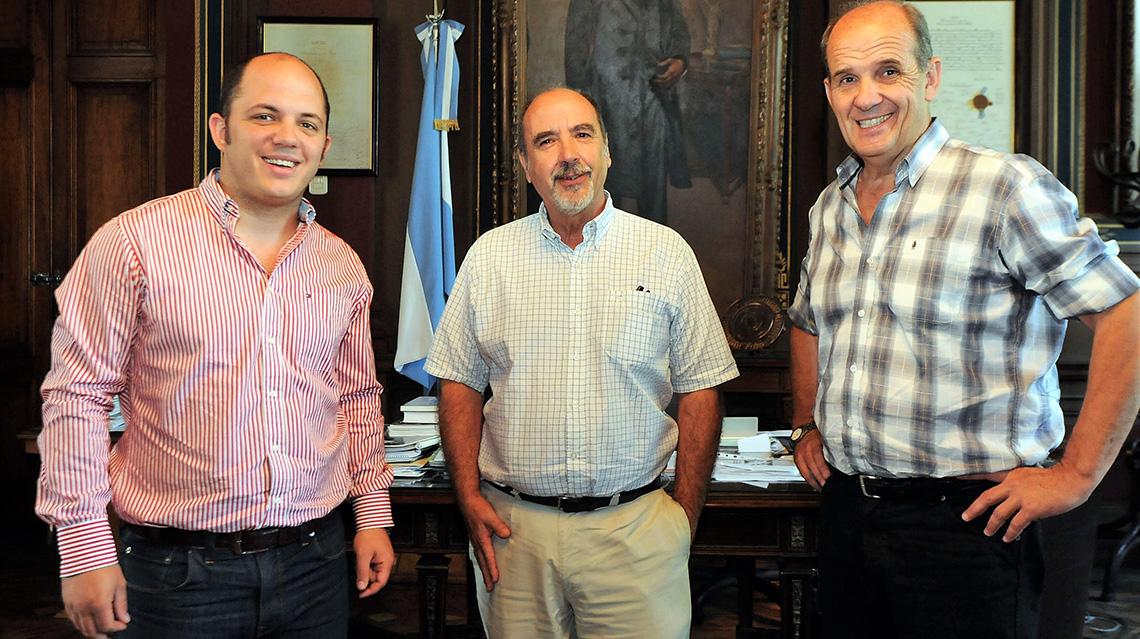 Pehuajó concretó un importante acercamiento a la Universidad de La Plata