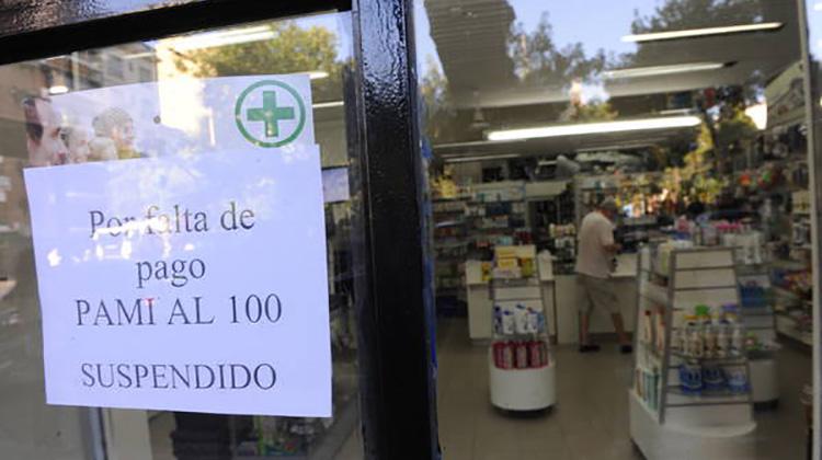 Farmacéuticos no atenderán PAMI