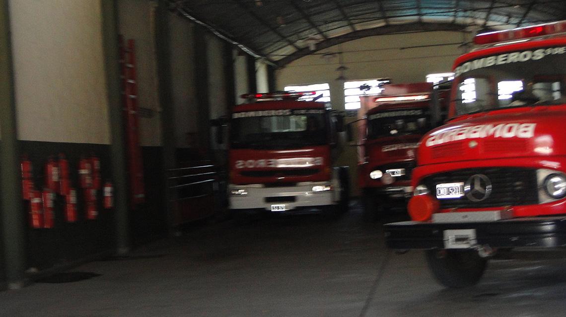 Más actividad de bomberos
