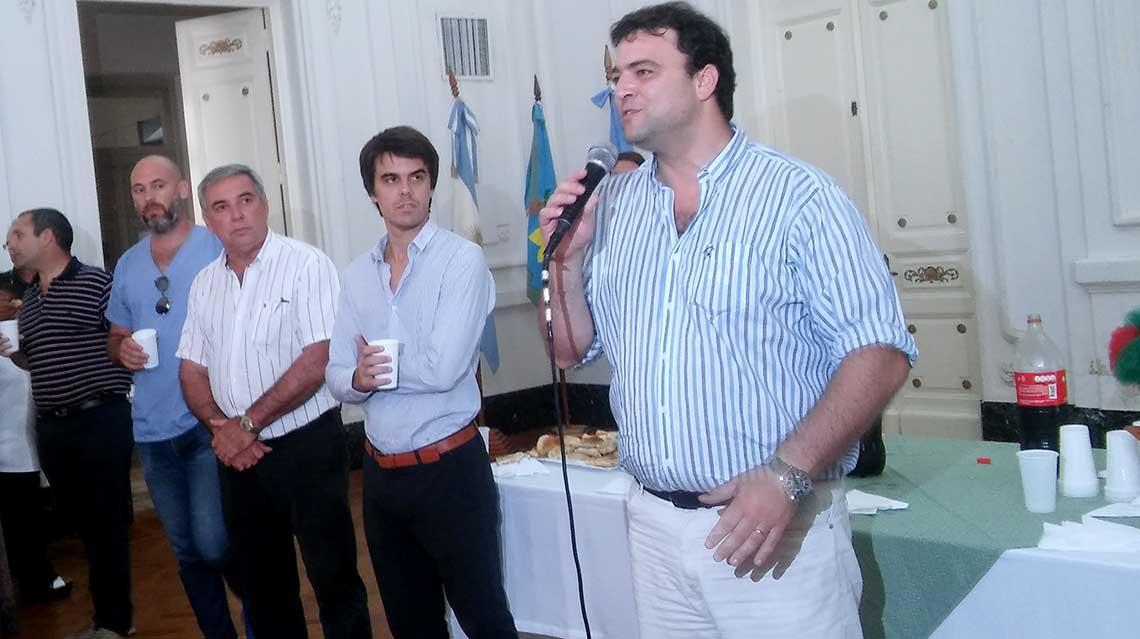 Barroso brindó por otro año juntos
