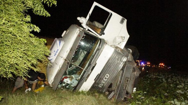 Fatal triple choque en Ruta 5