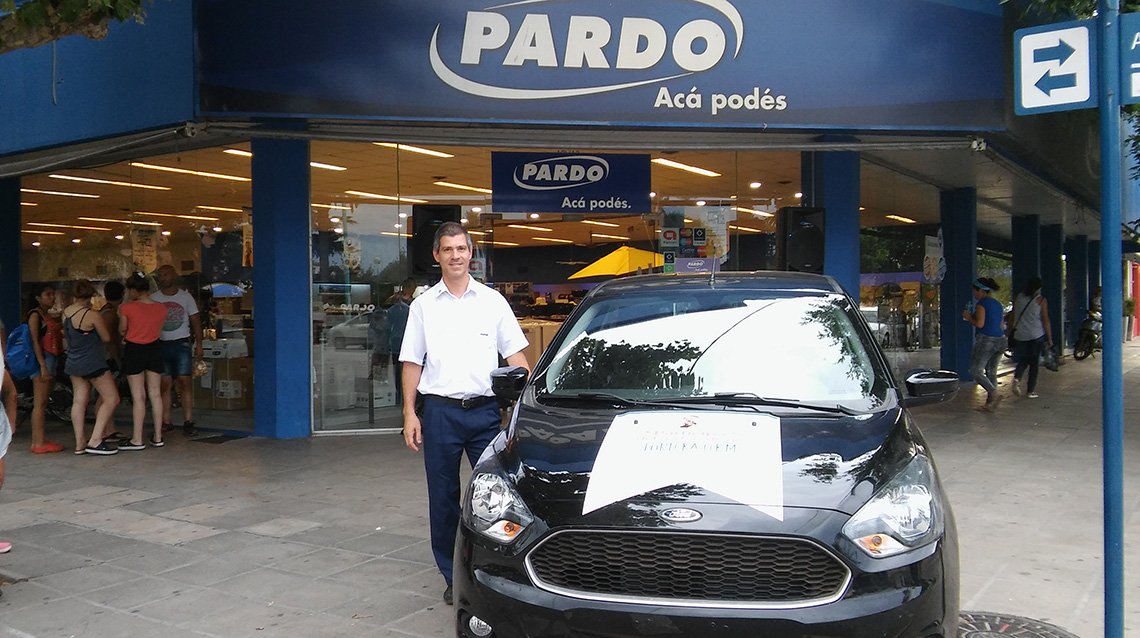 Pardo Hogar sorteó el 0 km