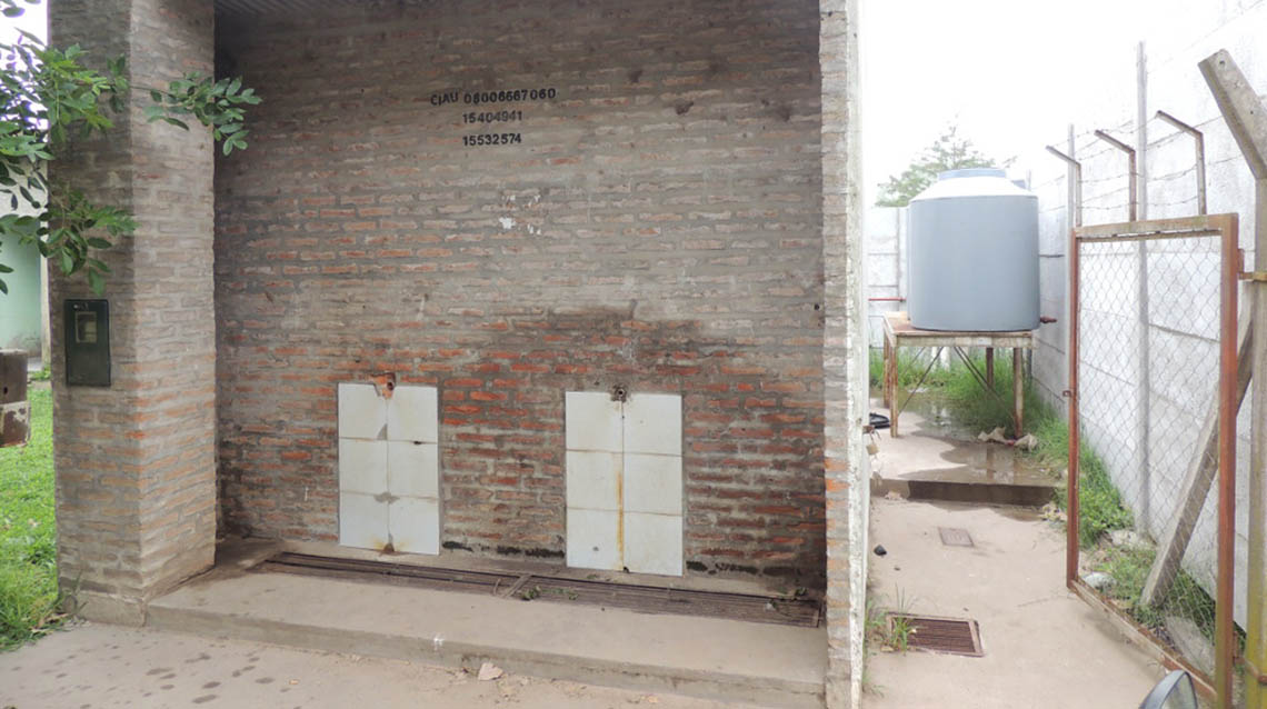 Vandalismo en planta de ósmosis