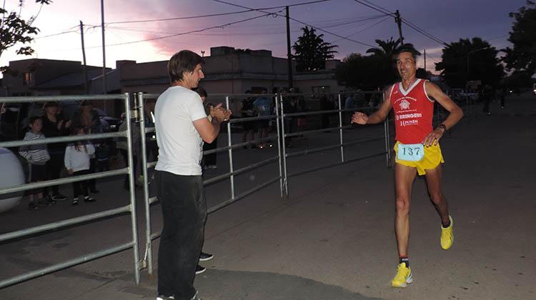 El juninense Cabral se quedó con la Copa Maratones de 9 de Julio