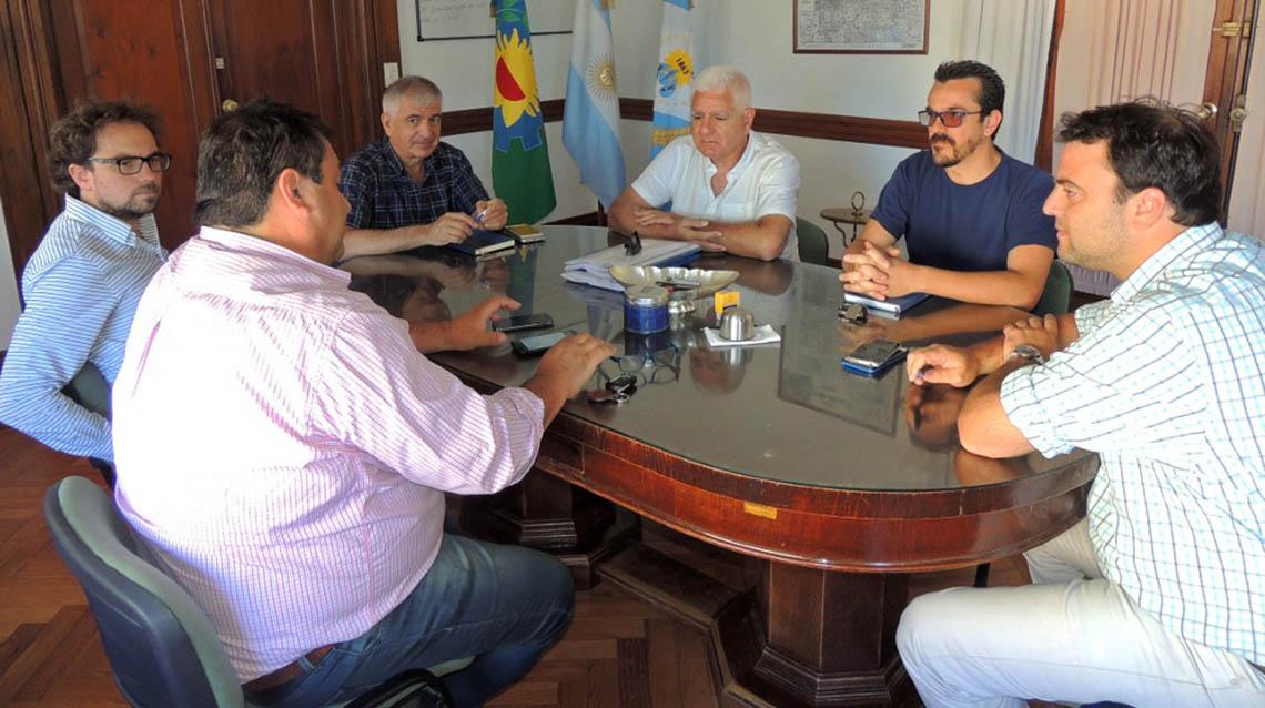 Barroso recibió a autoridades de ABSA