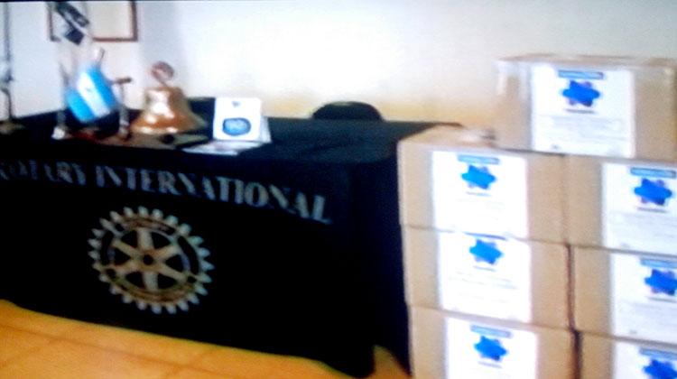 El Rotary donó medicamentos para tratamientos crónicos