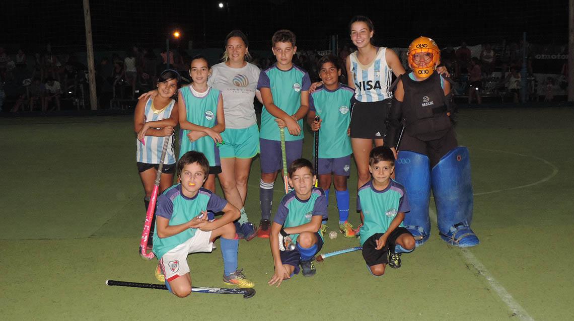 Baby Hockey San Martín