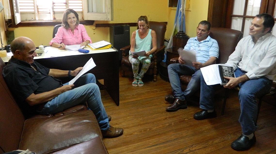 Los concejales en Interbloques