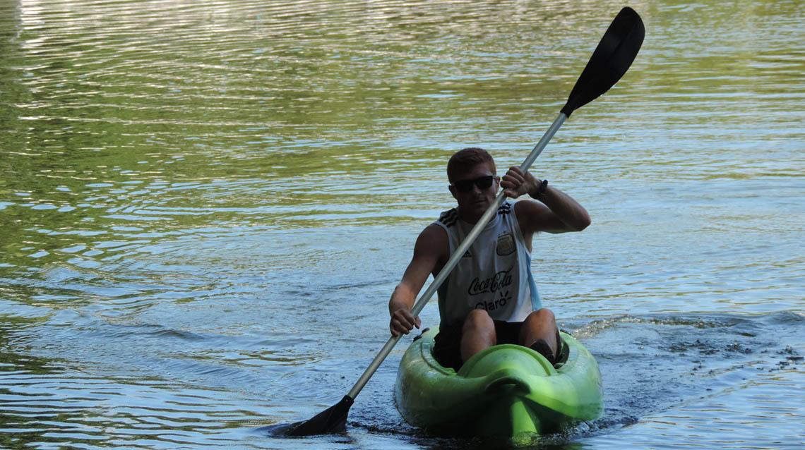 Kayak y canoas en el Parque
