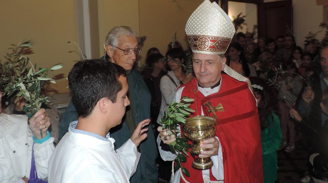 Se celebró el Domingo de Ramos