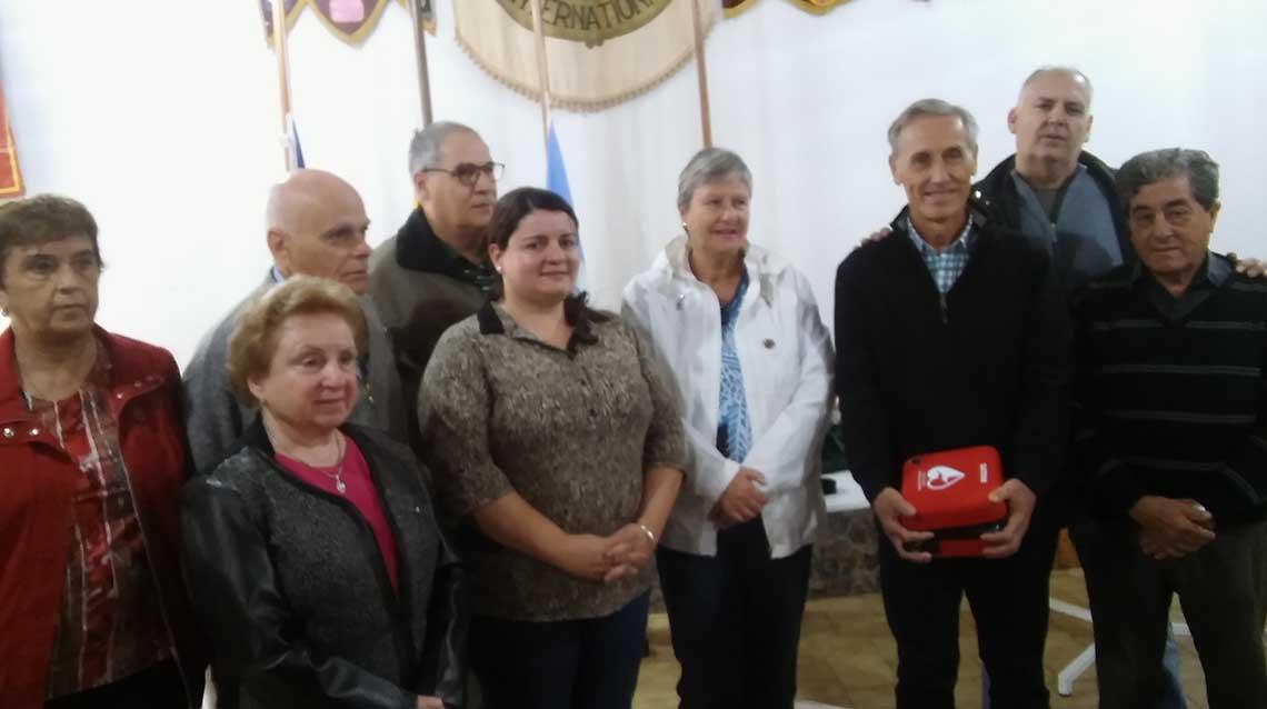 Donación para el Hospital de Quiroga