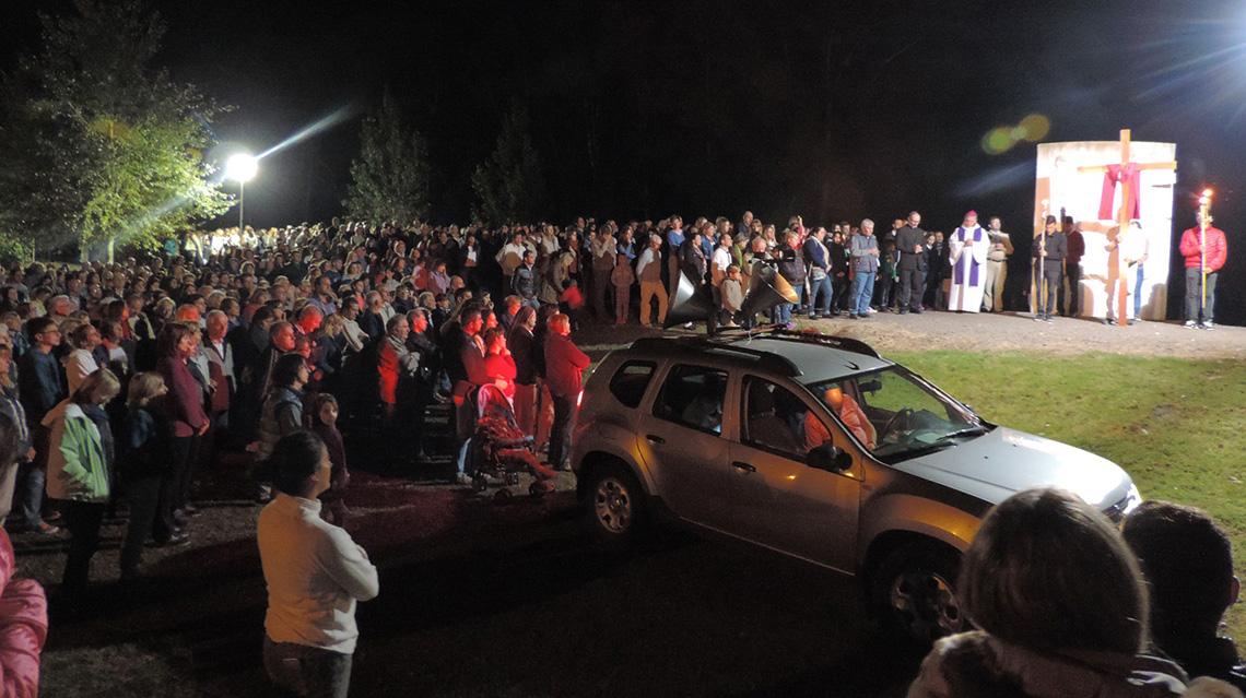 Una multitud acompañó las celebraciones
