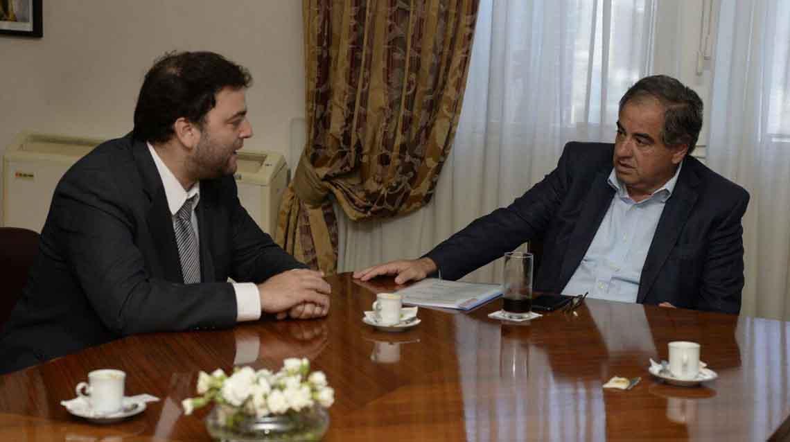 Barroso se reunió con Martínez