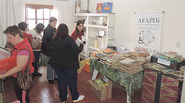 Feria en AFAPDI
