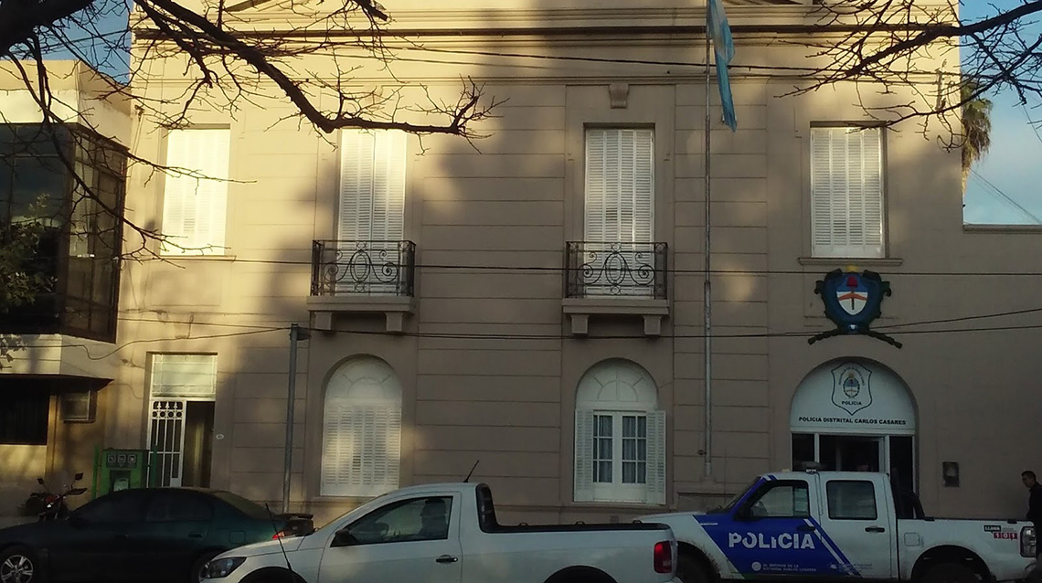 Cae la cúpula policial de Casares