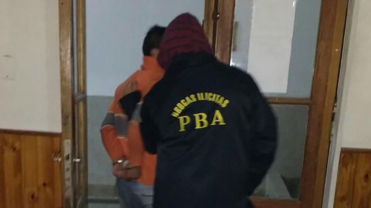 Allanamientos y  secuestro de drogas