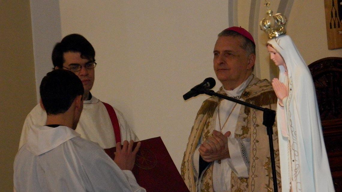 Homilía del obispo Mosconi